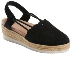 Earth Women's Buran Azalea Sling Back Espadrille Wedge Sandal Women's Shoes