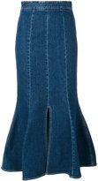 Stella McCartney Ivy denim midi skirt - women - Cotton/Spandex/Elastane - 36