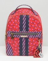 Juicy Couture Coated Canvas Odessa Floral Backpack