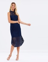 Cooper St Azure Mesh Dress