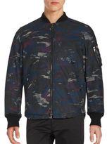 Diesel Printed Cotton-Blend Jacket