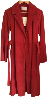 Stine Goya Red Leather Trench coats