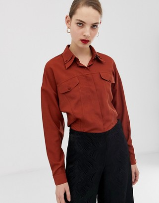 ASOS shirt with seam detail