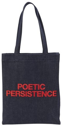 A.P.C. Poetic Persistence tote bag