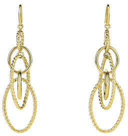 David Yurman Mobile Large Link Dangle Earrings in 18K Gold
