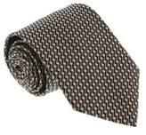 Missoni U4513 Black/gold Skarkskin 100% Silk Tie.