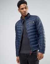 Sisley Padded Jacket With Concealed Hood