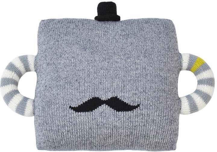 Blabla Hold Me Tight Mustache Pillow