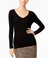 Catherine Malandrino Cashmere Ribbed Sweater