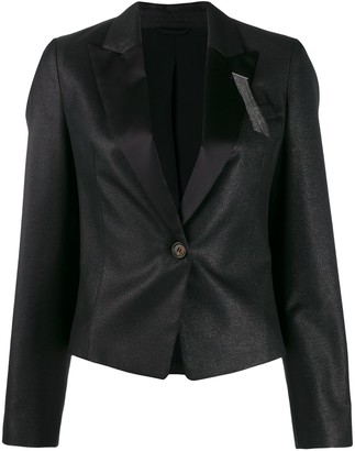 Brunello Cucinelli Tailored Blazer Jacket