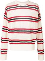 Laneus long sleeved striped pullover