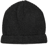 John Lewis Made In Italy Cashmere Ribbed Beanie Hat
