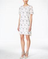 BCBGeneration Floral-Print Shift Dress