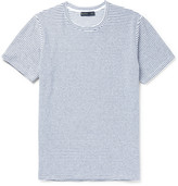 Etro - Slim-fit Striped Stretch-cotton Terry T-shirt