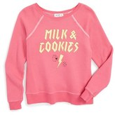 Wildfox Couture 'Milk & Cookies' Sweater (Little Girls)