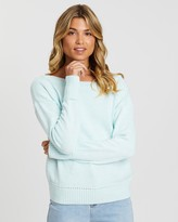 Gap Drop Shoulder Boat Neck Knit