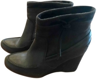 Vanessa Bruno Brown Leather Ankle boots