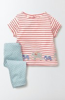 Toddler Girl's Mini Boden Summer Top & Leggings Set