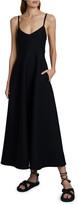 Valentino Sleeveless Maxi Dress with Pockets