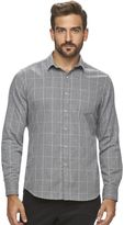 Marc Anthony Men's Slim-Fit Plaid Soft-Touch Flannel Button-Down Shirt