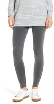 David Lerner Women's Stitched Moto Leggings