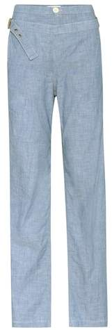 Chloé Chambray trousers