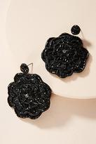 Anthropologie Blooming Rose Drop Earrings