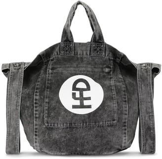 Honey Fucking Dijon Faded Denim Bag