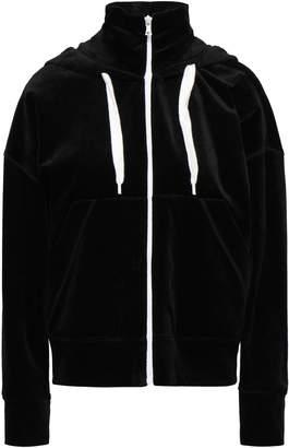 GOEN.J Cotton And Modal-blend Chenille Hooded Jacket