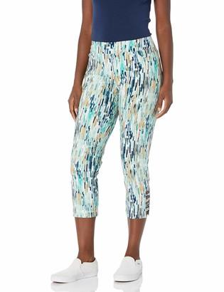 Slim Sation SLIM-SATION Women's Print Crop Pant