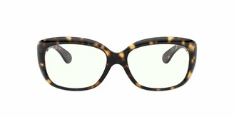 Ray-Ban Women's RB4101 Jackie Ohh Everglasses Butterfly Sunglasses