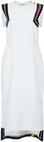 Preen by Thornton Bregazzi White Datany Back Detail Dress