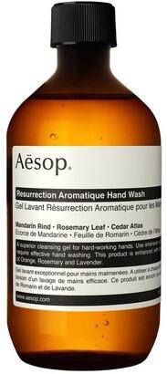 Aesop Resurrection Aromatique Hand Wash 500ml with Screw Cap No Colour