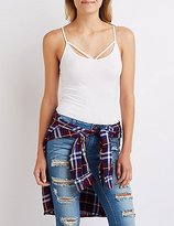 Charlotte Russe Strappy Cami Tank Top