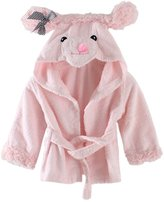 Little Spring LittleSpring Baby Girls' Bathrobe Animal Cartoon Size 0-3T