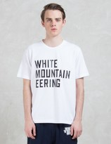 White Mountaineering Printed S/S T-shirt