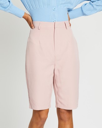 Missguided Co-Ord Tailored Longline Shorts