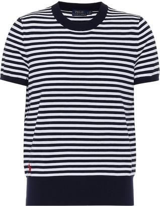 Polo Ralph Lauren Striped cotton-blend T-shirt