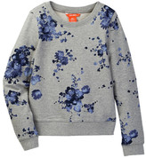 Joe Fresh Floral Print Sweater (Little Girls & Big Girls)