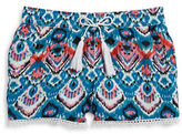 Imperial Star Girls 7-16 Girls Crochet Accented Shorts