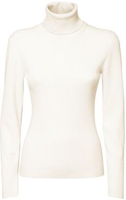 Dolce & Gabbana Slim Knit Wool Turtleneck Sweater