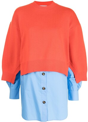 Enfold Oversized Poplin Tunic
