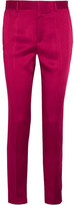 Haider Ackermann Satin Slim-leg Pants - Fuchsia