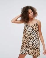 Monki Leopard Print Cami Dress