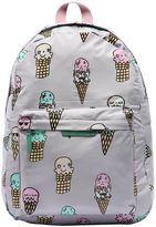 Stella McCartney Ice Cream Print Nylon Backpack