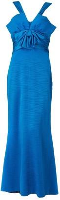 Nina Ricci Blue Silk Dresses