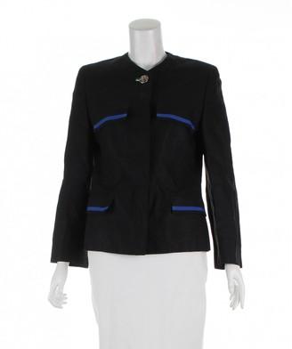 Versace Black Linen Jackets
