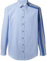 MSGM one striped sleeve shirt