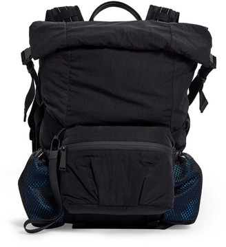 Bottega Veneta Small Fold-Top Technical Backpack