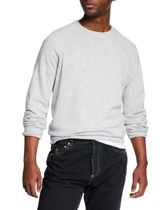 Brunello Cucinelli Men's Solomeo Raglan-Sleeve Sweater